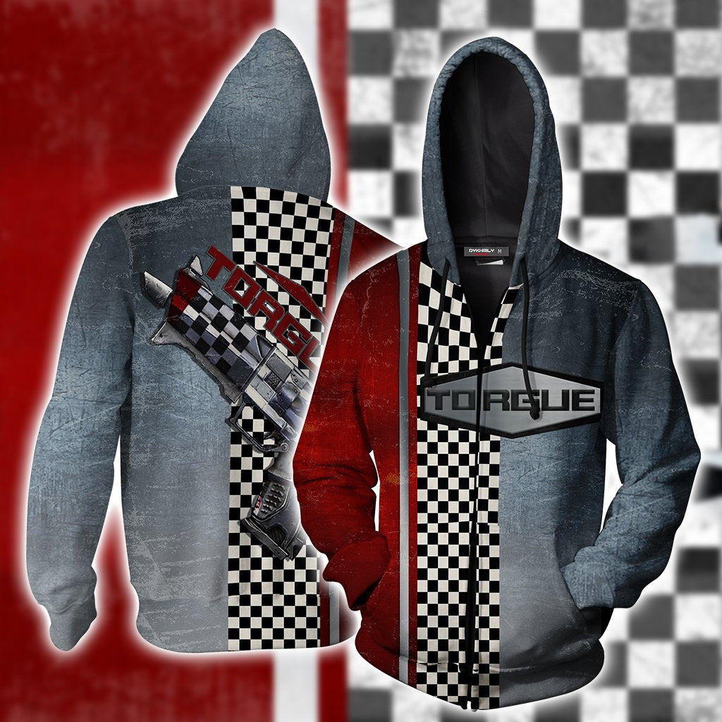 Borderlands Torgue Zip Up Hoodie
