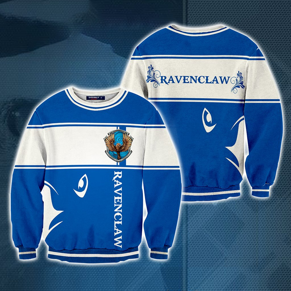 Ravenclaw Harry Potter 3D Sweater