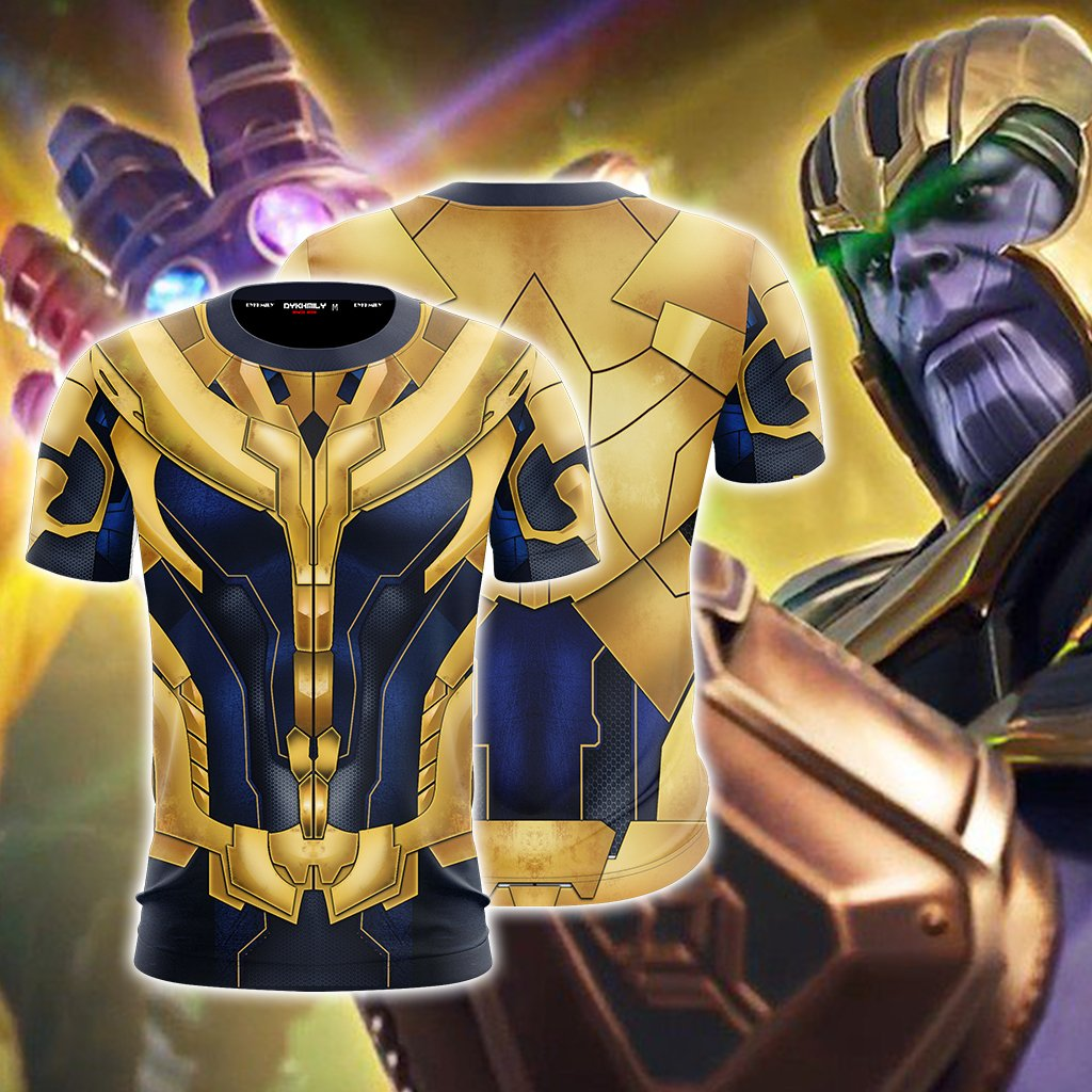 Thanos Cosplay Unisex 3D T-shirt