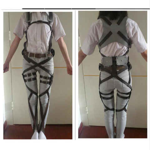 Attack on Titan Adjustable Belts Cosplay