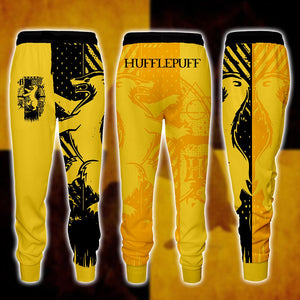 Quidditch Hufflepuff Harry Potter Jogging Pants