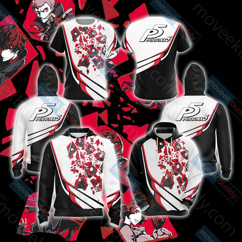 Image of Persona 5 New Look Unisex 3D Hoodie