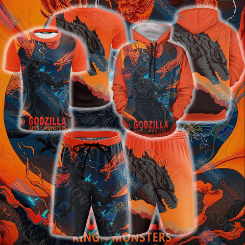 Image of Godzilla King Of The Monsters Unisex 3D T-shirt