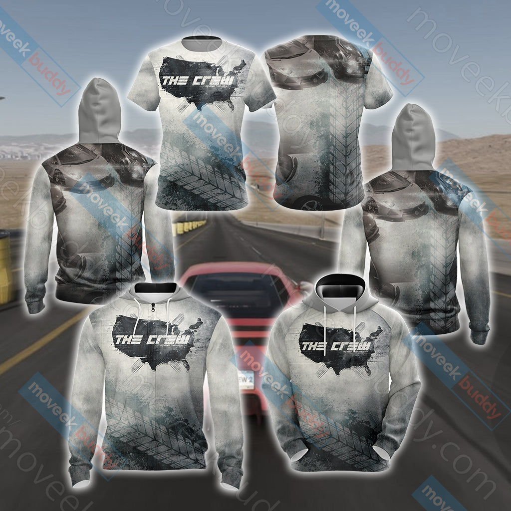The Crew (video game) Unisex 3D Hoodie