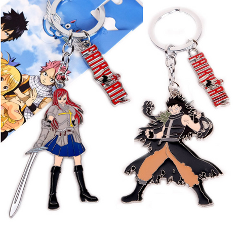 Image of Fairy Tail Keychain Pendant Keyring