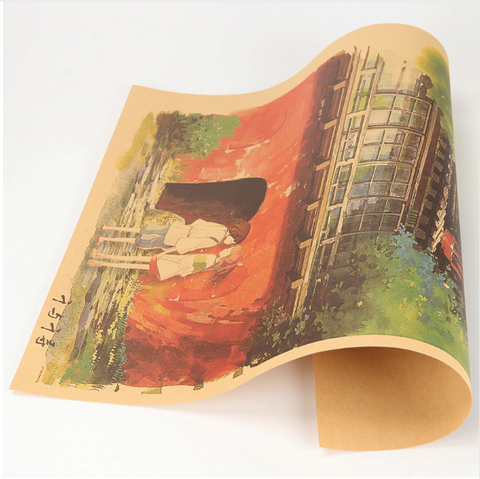 Image of Spirited Away Poster Home Decor Wall