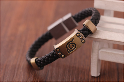 Image of Naruto Knit Bracelet Fashion Bracelets