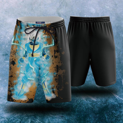 Image of Dragon Ball Songoku Super Saiyan Blue Beach Short
