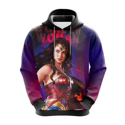 Image of Wonder Woman Unisex 3D Hoodie