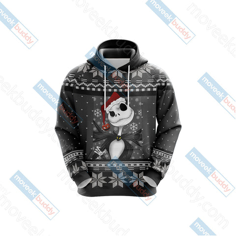 Image of Nightmare Before Christmas - We wish you a scary christmas Unisex 3D Hoodie