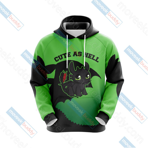 Image of How To Train Your Dragon - Toothless Unisex 3D Hoodie