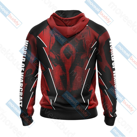 World Of Warcraft For The Horde New Unisex 3D Hoodie