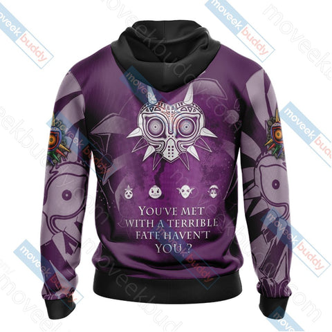 The Legend Of Zelda: Majora's Mask Unisex 3D T-shirt Zip Hoodie Pullover Hoodie