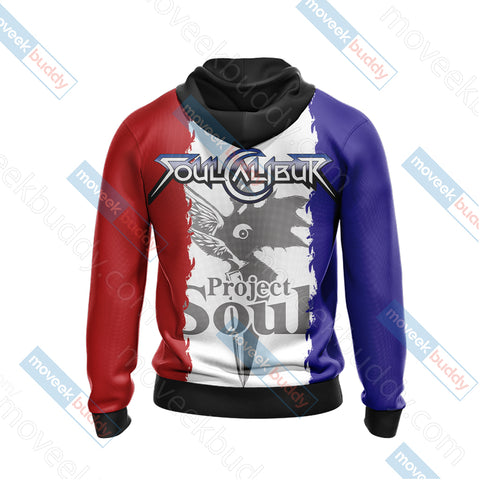 Image of Soulcalibur - Project Soul Unisex Zip Up Hoodie Jacket