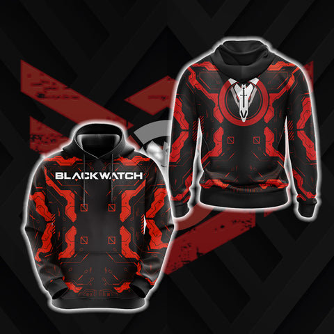 Overwatch - Blackwatch New Style 3D Hoodie