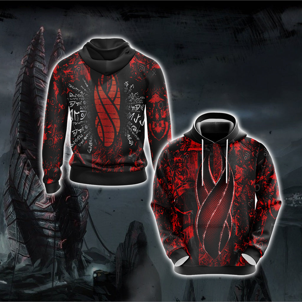 Dead Space - Red Marker New Version Unisex 3D Hoodie