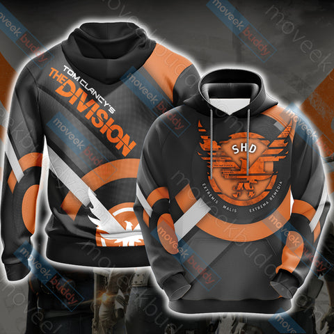 Tom Clancy's The Division New Look Unisex Zip Up Hoodie