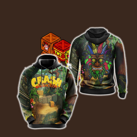 Image of Crash Bandicoot New Style Unisex 3D Hoodie