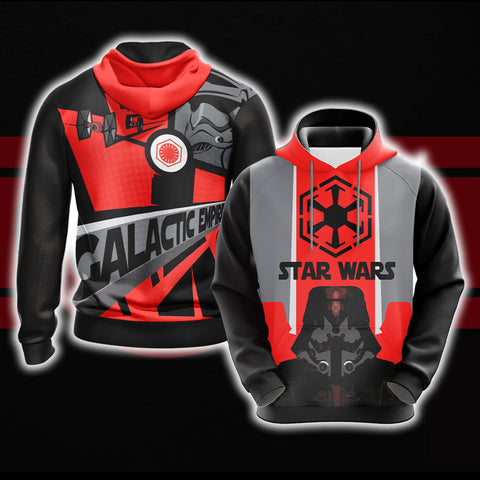 Image of Star Wars - Galactic Empire Unisex 3D Hoodie