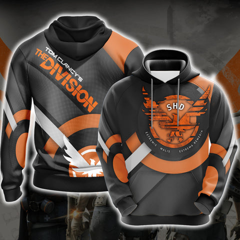 Tom Clancy's The Division New Look Unisex 3D Hoodie