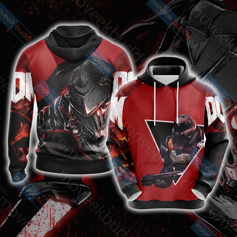 Image of Doom New Collection Unisex 3D Hoodie