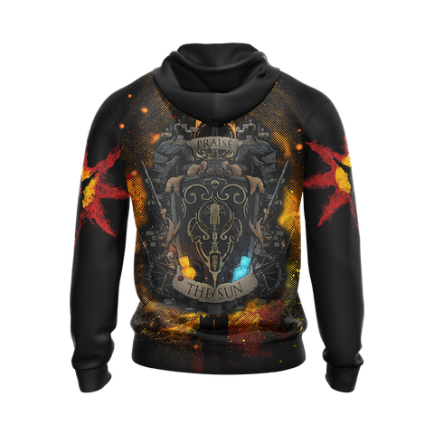 Image of Dark Souls - Praise The Sun, Solaire of Astora Unisex 3D Hoodie