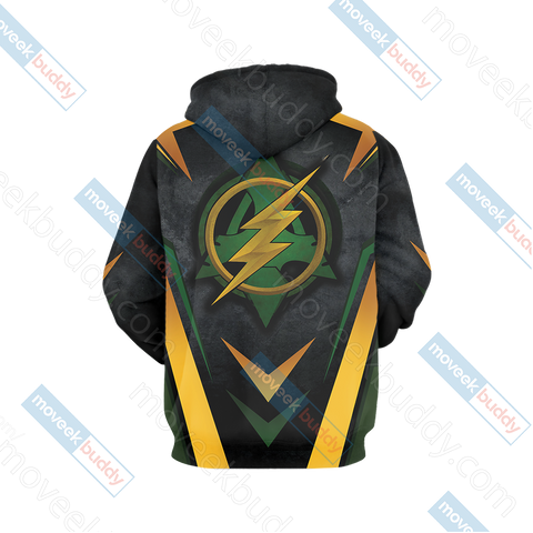 Image of Arrow and Flash New Version Unisex 3D Hoodie
