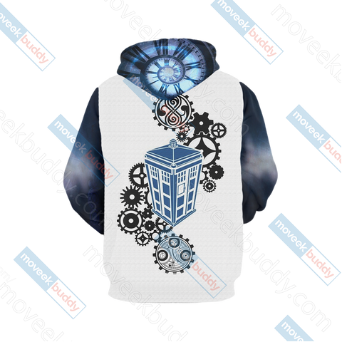 Image of Doctor Who Tardis New Unisex 3D Hoodie