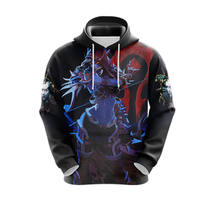 World of Warcraft - Sylvanas Windrunner Unisex 3D Hoodie