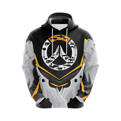 Image of Overwatch Weapons Logo Unisex 3D Hoodie