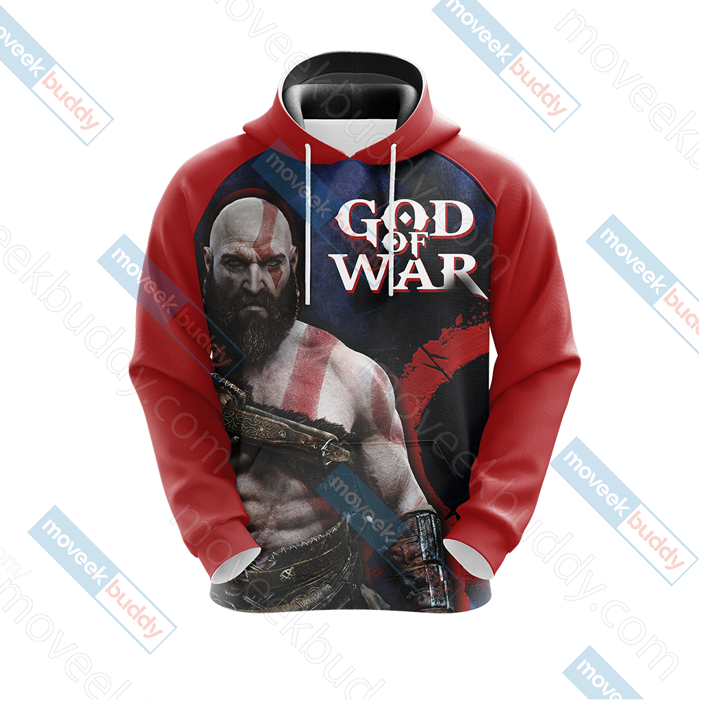 God Of War - Kratos New Collection Unisex 3D Hoodie