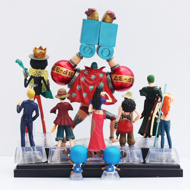 One Piece Action Figure Collection 2 Years Later Full Team