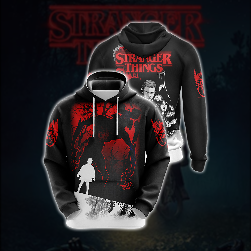 Stranger Things New Style Unisex 3D Hoodie