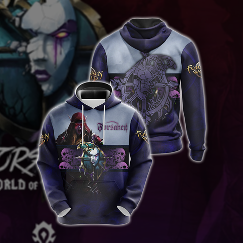 World Of Warcraft - Forsaken Unisex 3D Hoodie