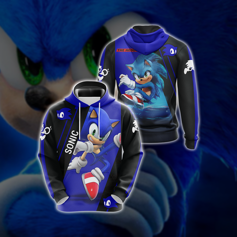 Image of Sonic the Hedgehog New Style Unisex 3D Hoodie