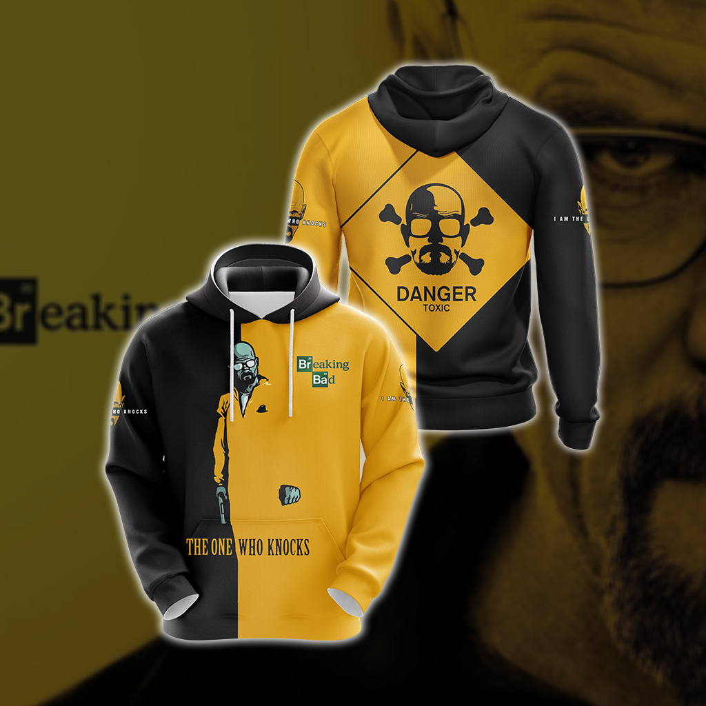 Breaking Bad Walter White Unisex 3D Hoodie