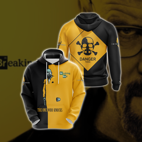 Image of Breaking Bad Walter White Unisex 3D Hoodie