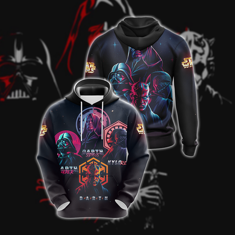 Image of Star Wars - Villains Unisex 3D Hoodie