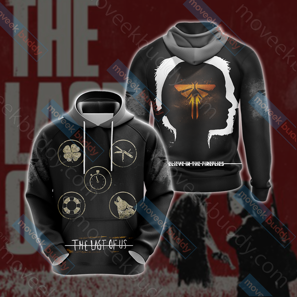 The Last of Us New Style Unisex 3D Hoodie