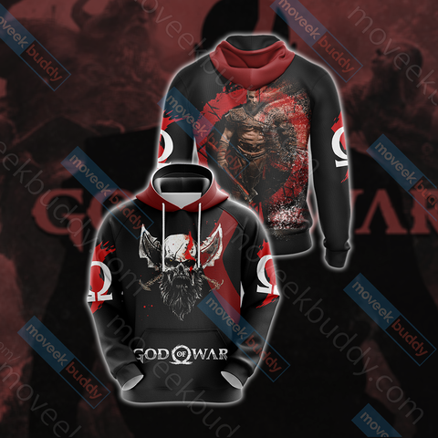 Image of God Of War Version 2019 Unisex 3D Hoodie