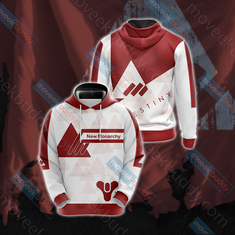 Image of Destiny - New Monarchy New Style Unisex 3D Hoodie
