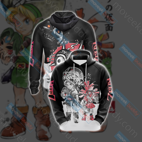 Image of Legend of Zelda New Version Unisex 3D Hoodie