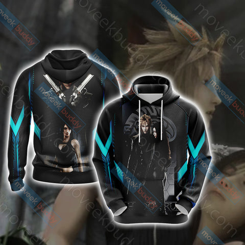 Image of Final Fantasy - Cloud and Tifa Unisex 3D Hoodie