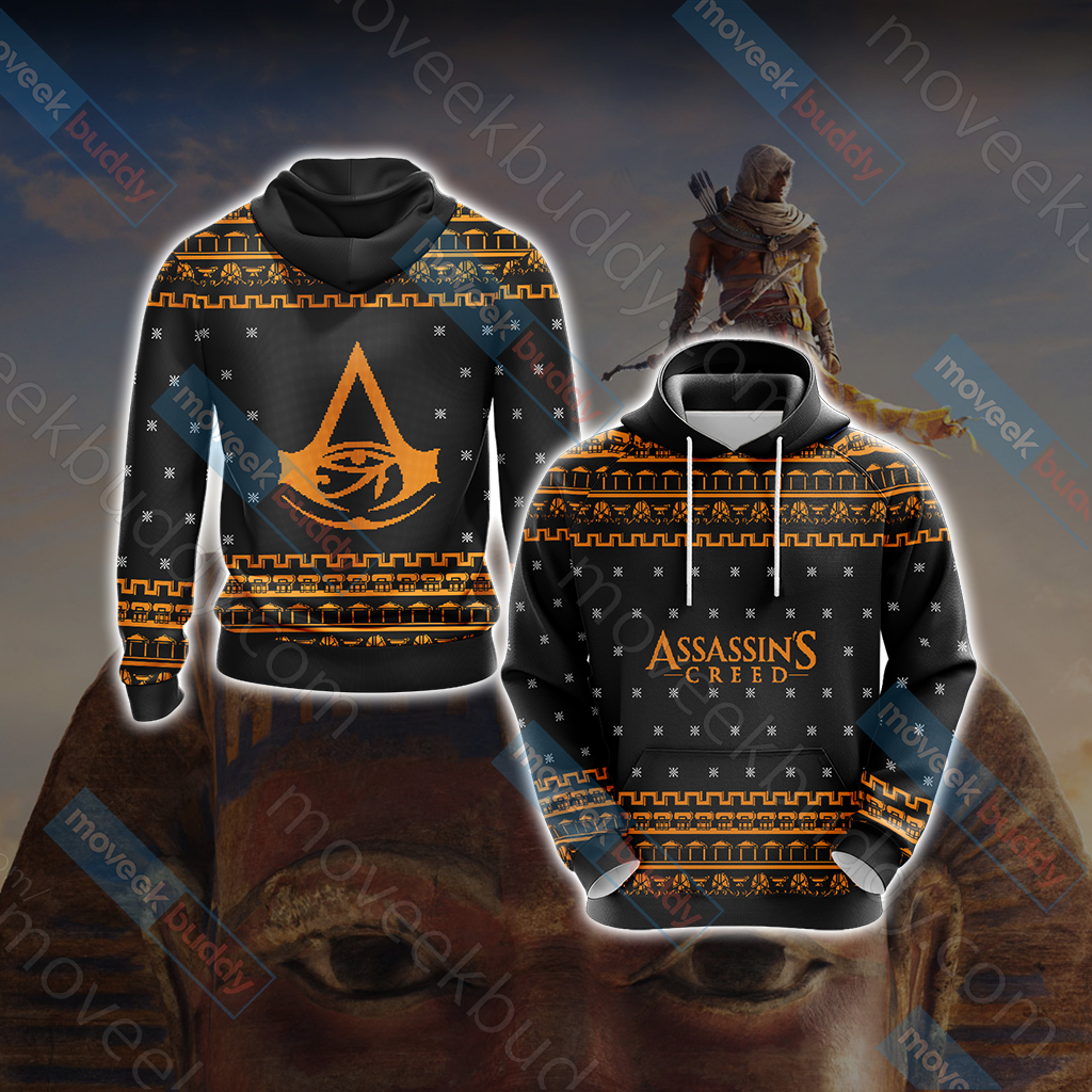 Assassin's Creed - Origins Knitting Style Unisex 3D Hoodie