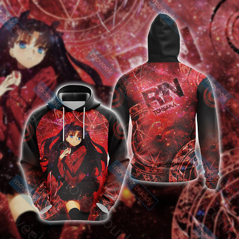Image of Fate / Stay Night - Rin Unisex 3D Hoodie