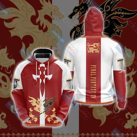 Image of Final Fantasy XV - Niflheim empire flag Unisex 3D Hoodie