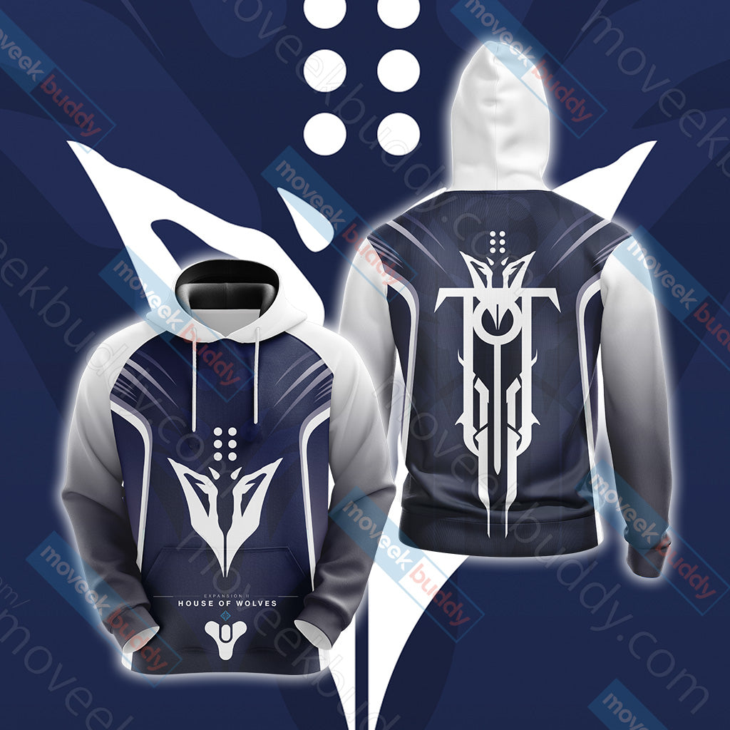 Destiny: House of Wolves New Unisex 3D Hoodie