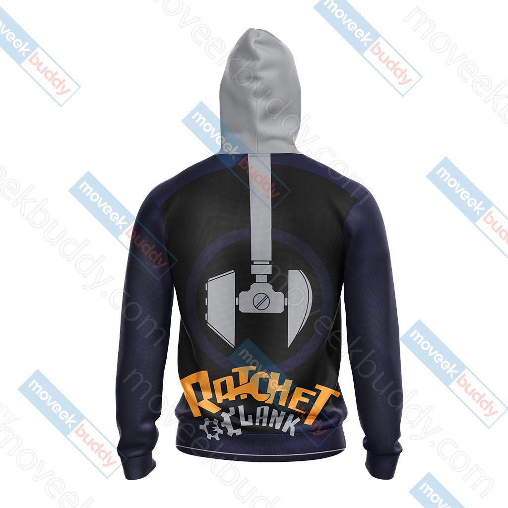Ratchet & Clank (video game) Unisex 3D Hoodie