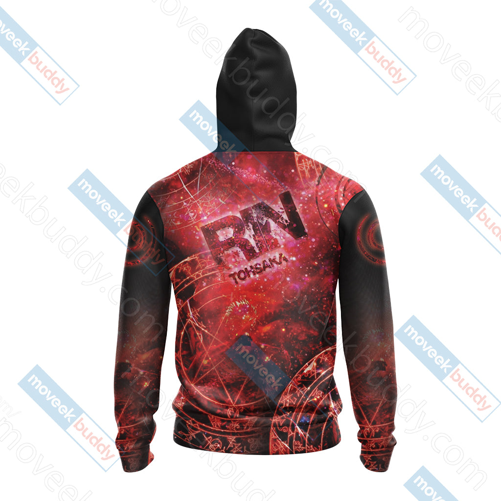Fate / Stay Night - Rin Unisex 3D Hoodie