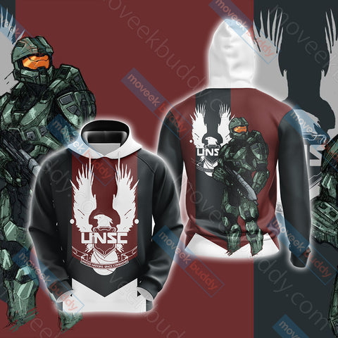 Image of Halo 4 Master Chief Unisex 3D Hoodie